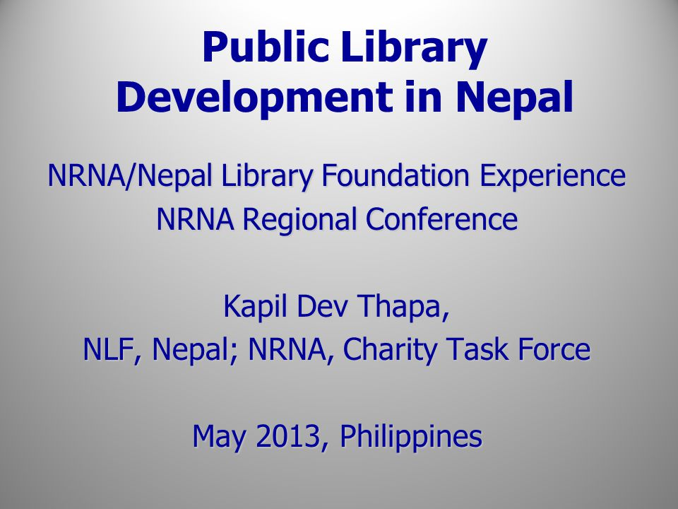 Nepal Library Foundation Collaboration With Kapil Dev Thapa (Board Member of NLF) Cont.