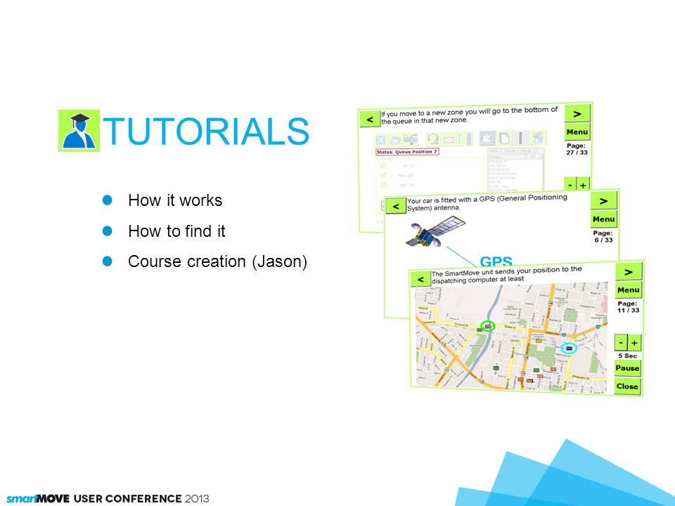 How it works How to find it Course creation (Jason) TUTORIALS