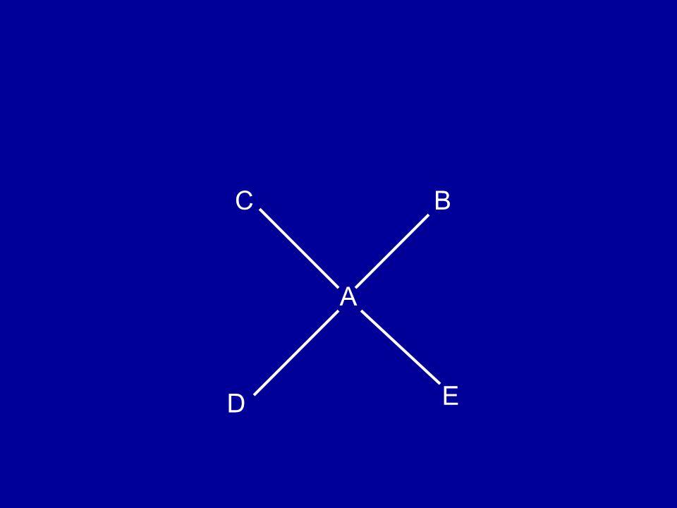 C D B E A