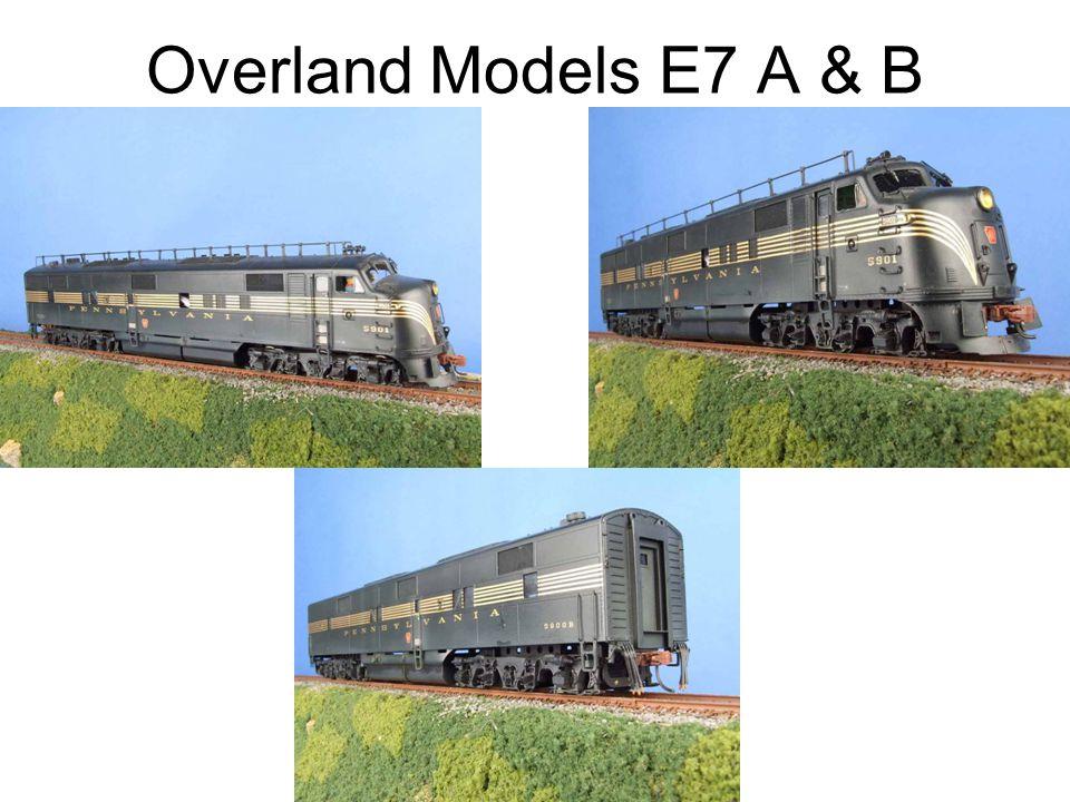 Overland Models E7 A & B