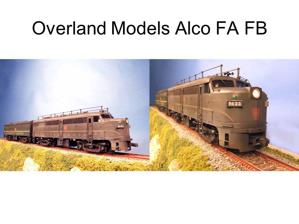 Overland Models Alco FA FB