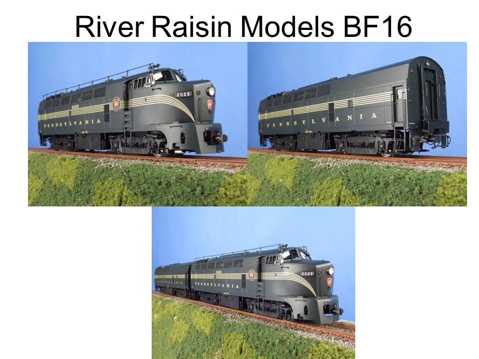 River Raisin Models BF16