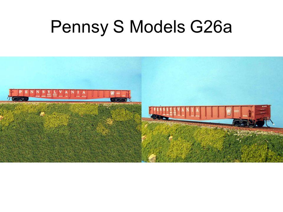 Pennsy S Models G26a
