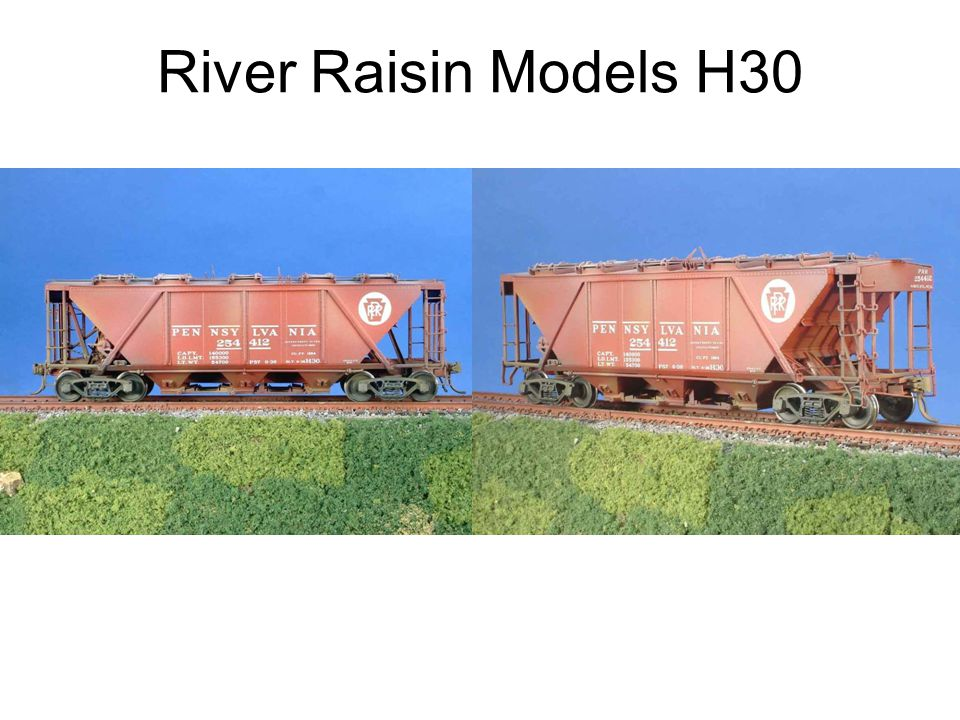 River Raisin Models H30