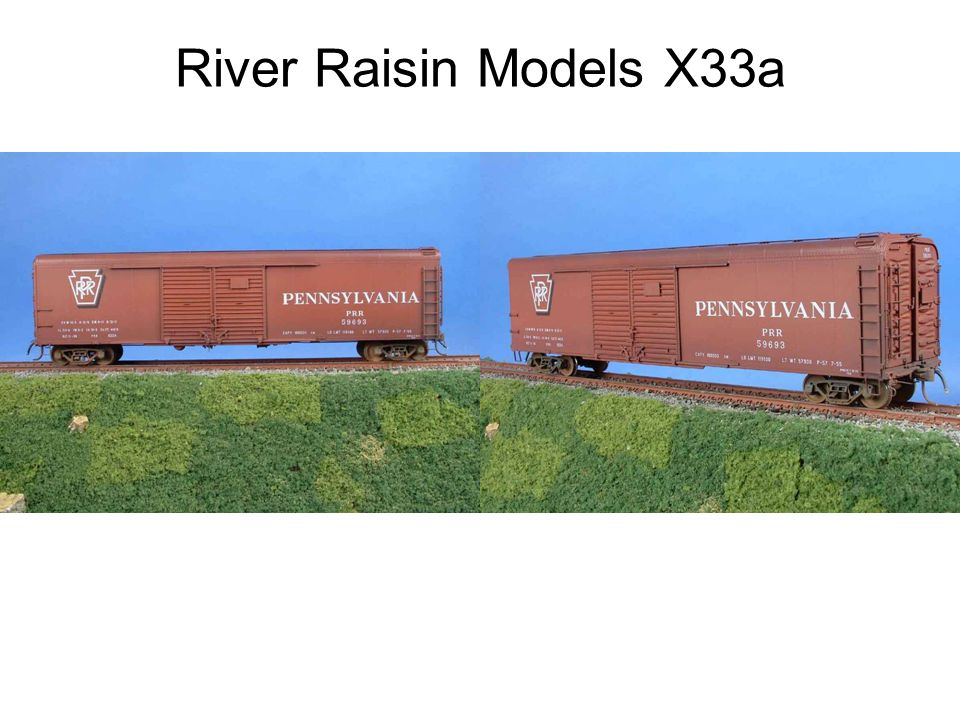 River Raisin Models X33a