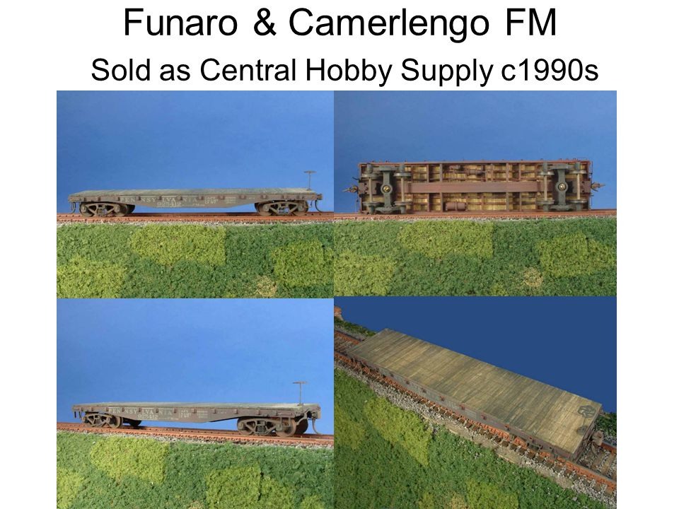Funaro & Camerlengo FM Sold as Central Hobby Supply c1990s
