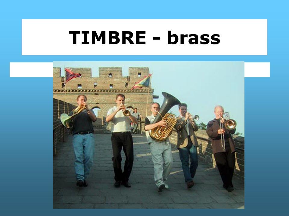 TIMBRE - brass Canadian Brass