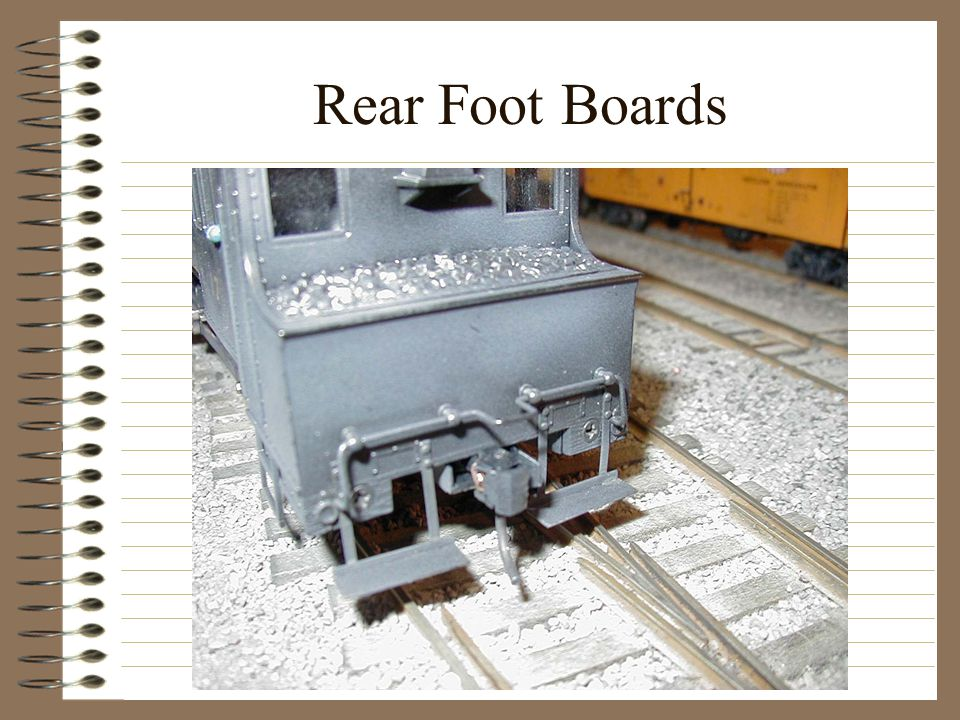 Rear Foot Boards