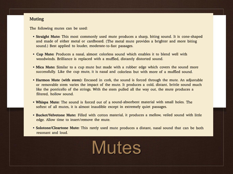 Mutes