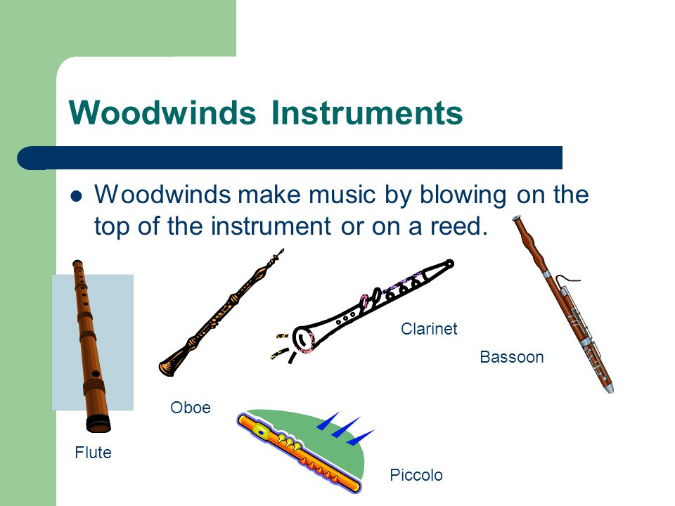 How do musical instruments create sound. It depends on the type of instrument.