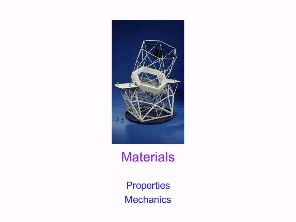 Materials PropertiesMechanics