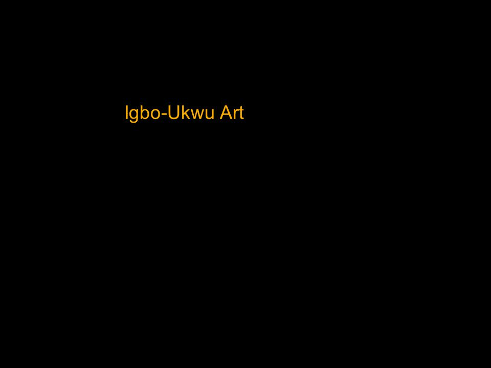 Igbo-Ukwu Art