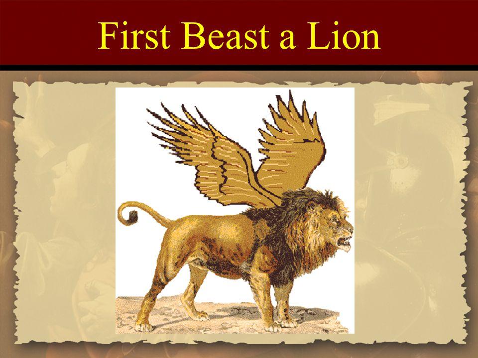 First Beast a Lion