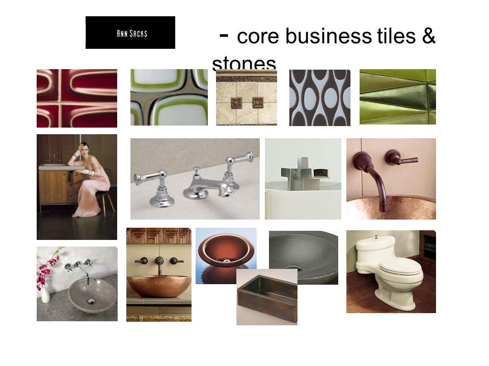 - core business tiles & stones