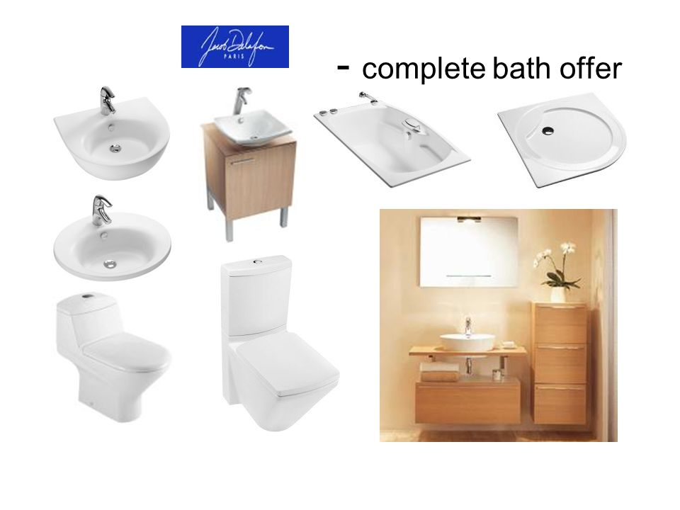 - complete bath offer