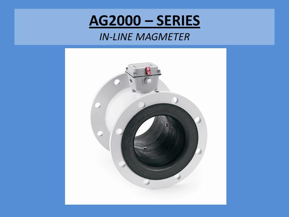 AG2000 – SERIES IN-LINE MAGMETER