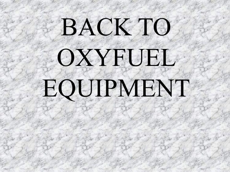 BACK TO OXYFUEL EQUIPMENT