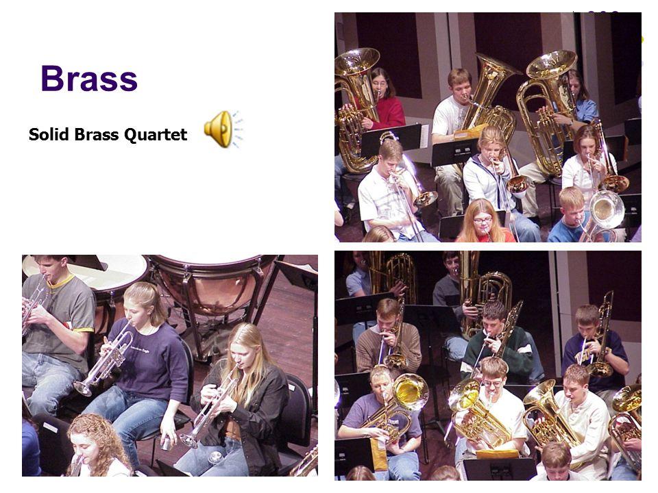 Brass Solid Brass Quartet