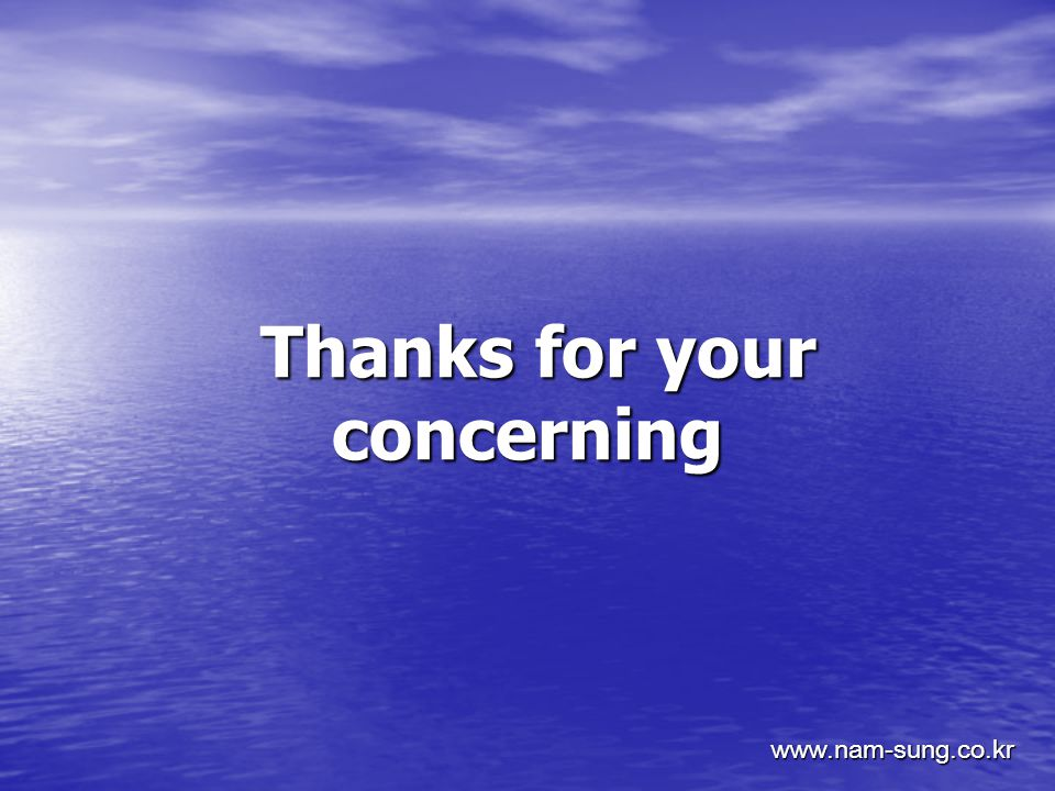 Thanks for your concerning Thanks for your concerning www.nam-sung.co.kr