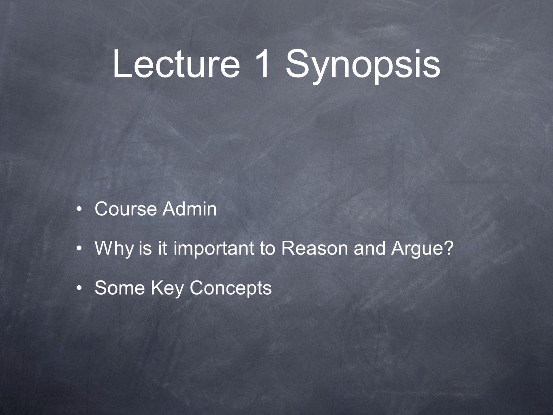 (3) Some Key Concepts Conclusion 'indicators' So...