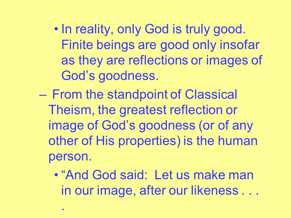 – In Analogical Predication, a term applied to God means something similar to (neither entirely the same nor entirely different) what it means when applied to human beings.