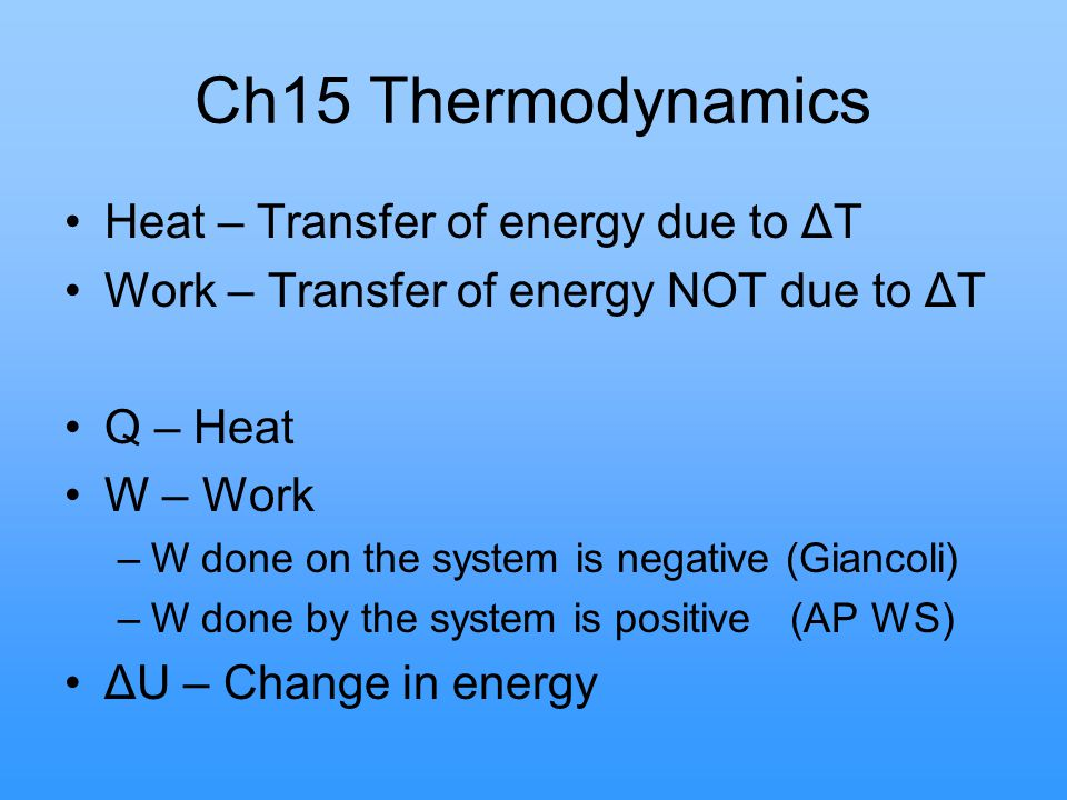 Work (W) 1 mole of an ideal gas is brought from point a to point c by 3 different process paths.