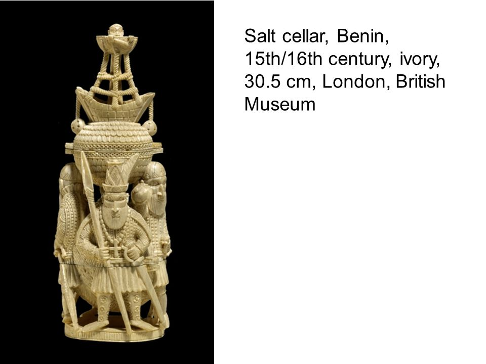 Brass Plaque from Oba's palace, 16/17 th century. British Museum.