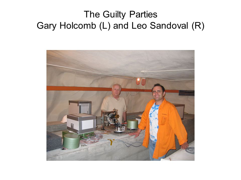 The Guilty Parties Gary Holcomb (L) and Leo Sandoval (R)