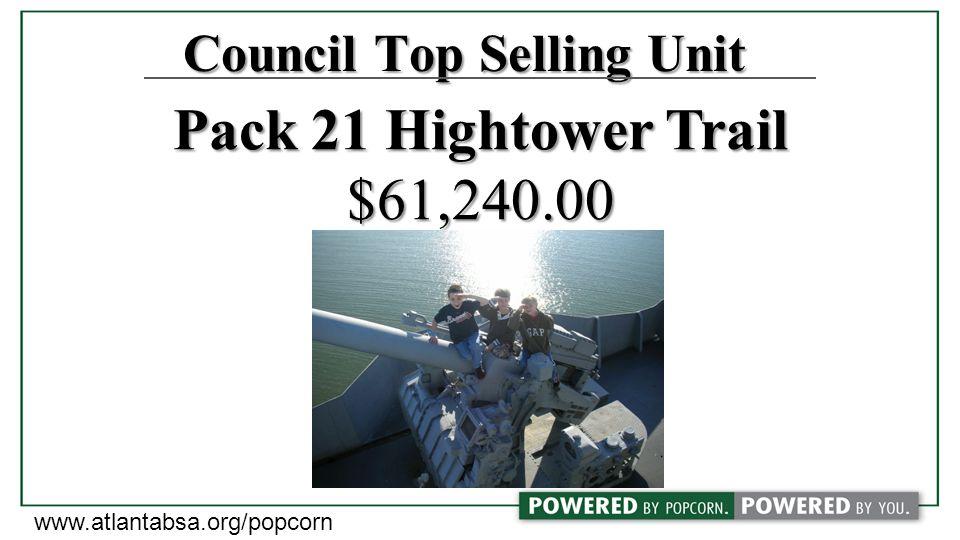 Joe Castro Pack 21 Hightower Trail District