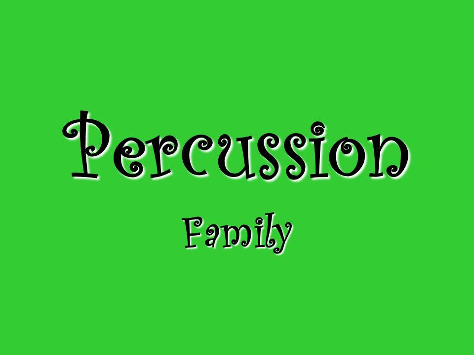 Percussion Family