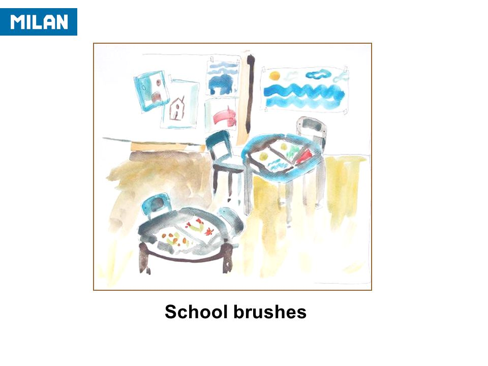 School brushes
