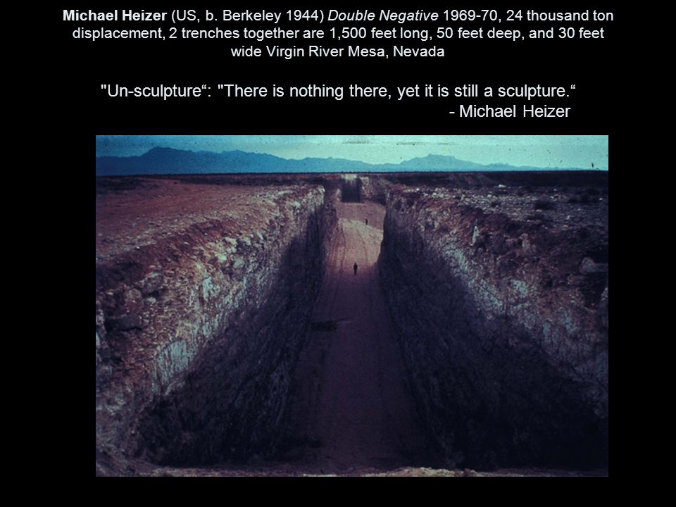 Michael Heizer (US, b.