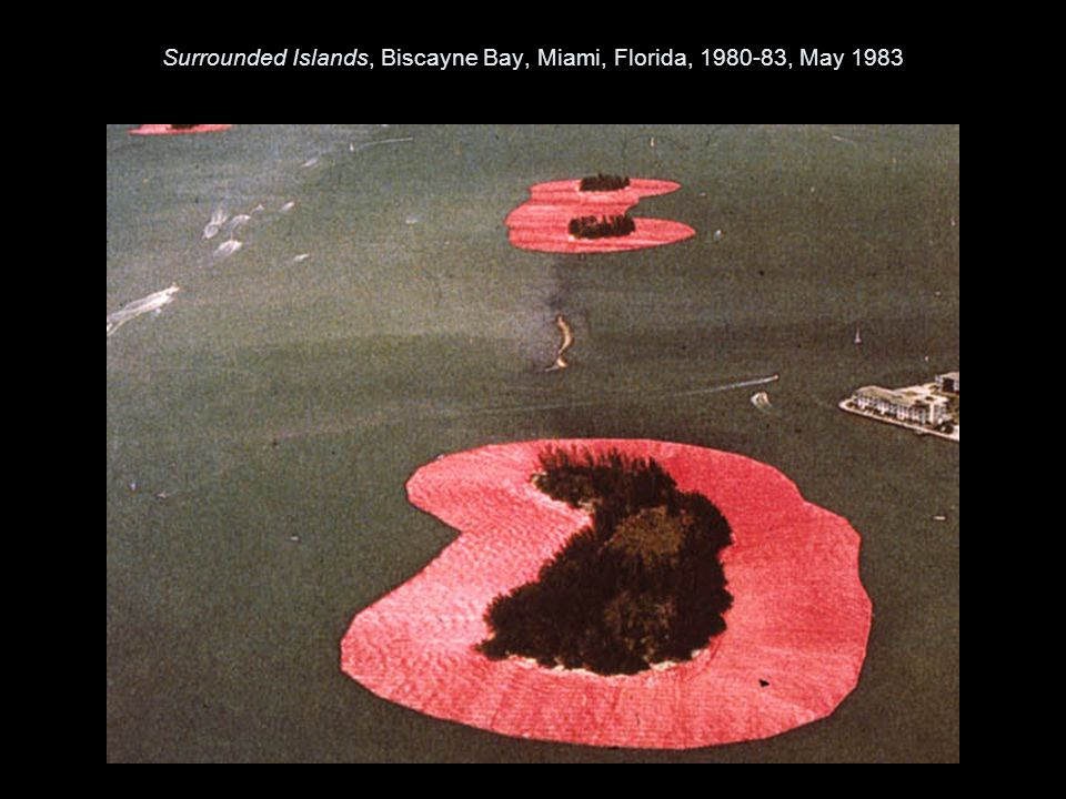 Surrounded Islands, Biscayne Bay, Miami, Florida, 1980-83, May 1983