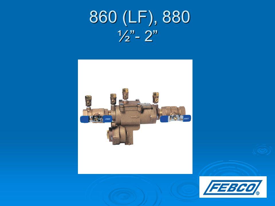 860 (LF), 880 ½ - 2 860 (LF), 880 ½ - 2