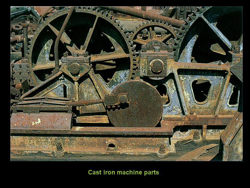 Cast iron machine parts
