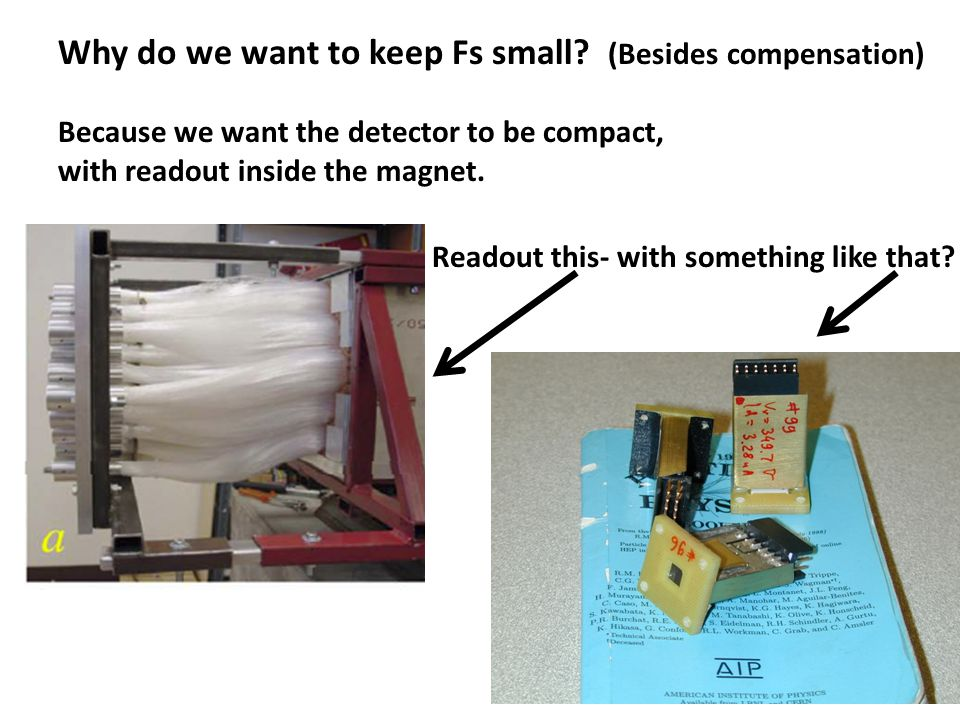 Everything should be kept as simple as possible, but no simpler. Test setup at SLAC FFTB.