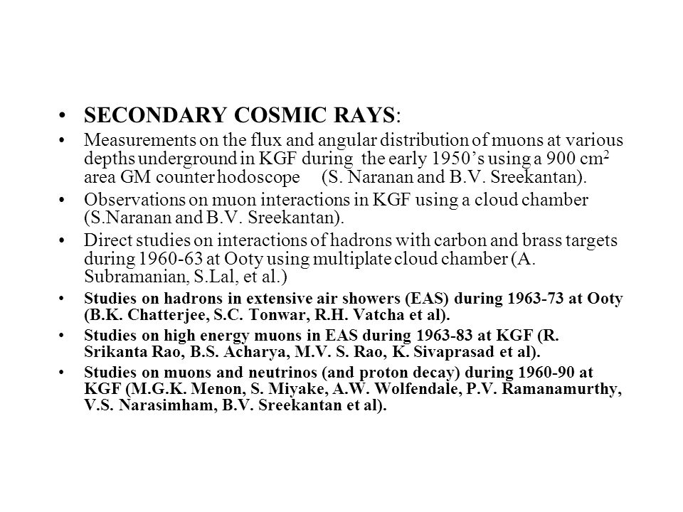 SECONDARY COSMIC RAYS: Measurements on the flux and angular distribution of muons at various depths underground in KGF during the early 1950's using a 900 cm 2 area GM counter hodoscope (S.