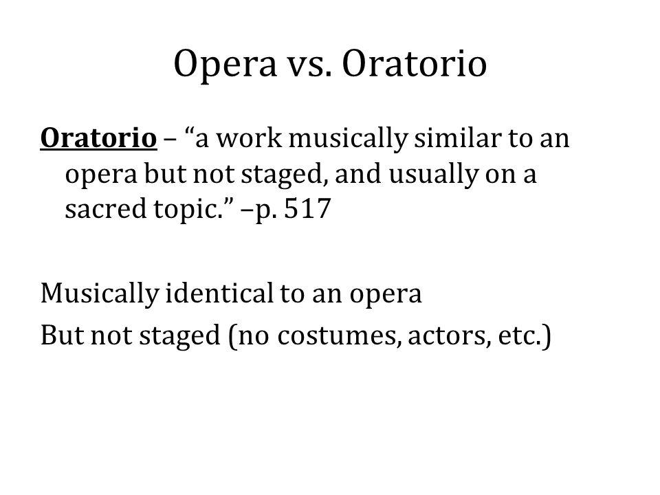 Opera vs.