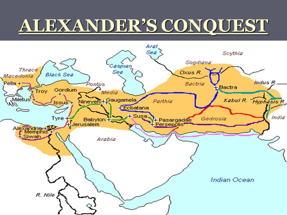 ALEXANDER'S CONQUEST