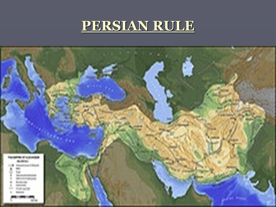 PERSIAN RULE