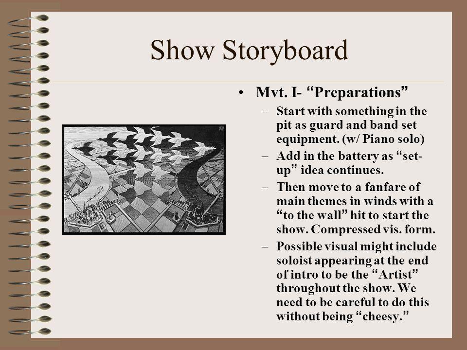 Show Storyboard Mvt.