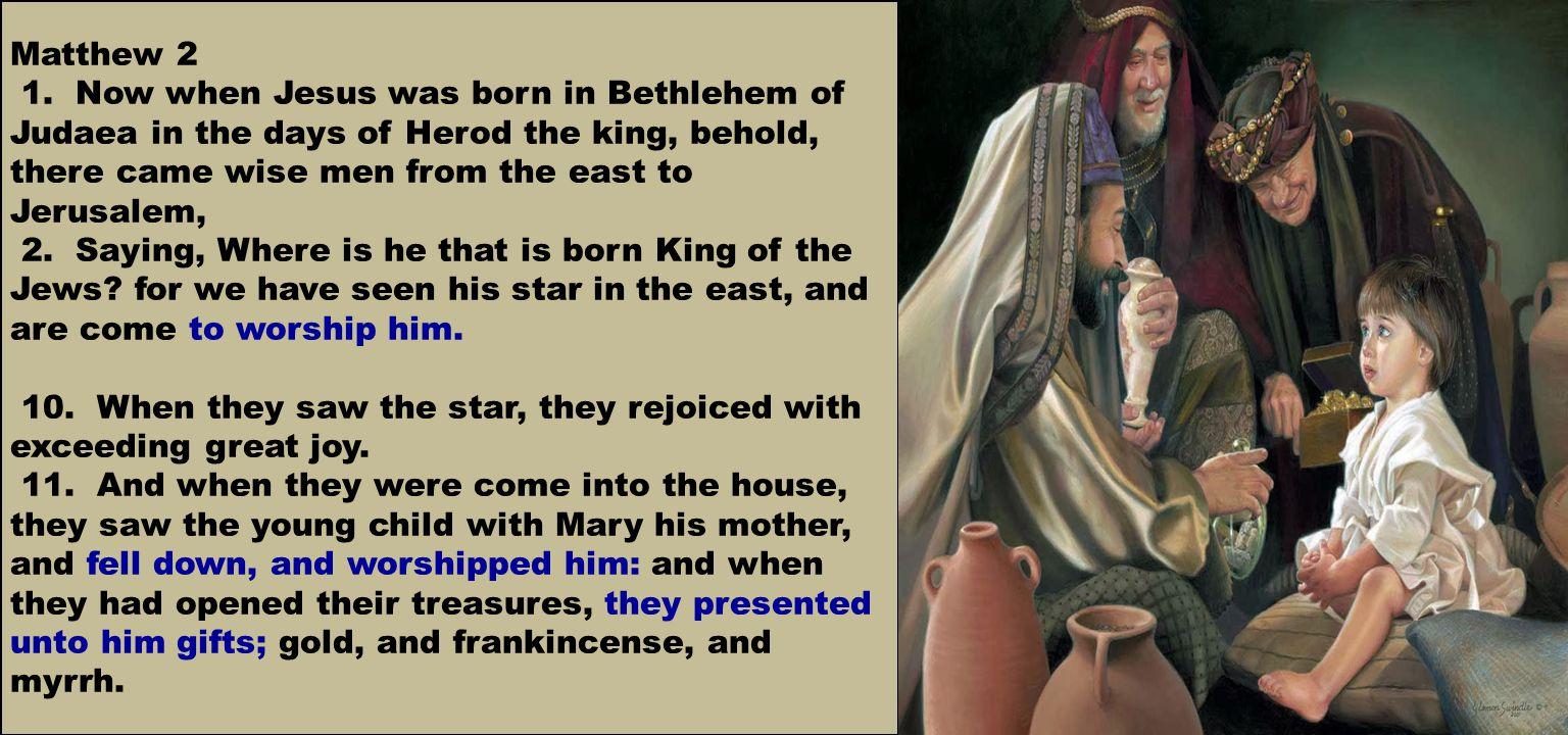 Matthew 2 1.