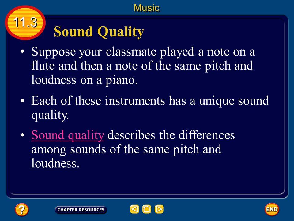 11.4 Section Check Question 1 A.acoustics B. echolocation C.