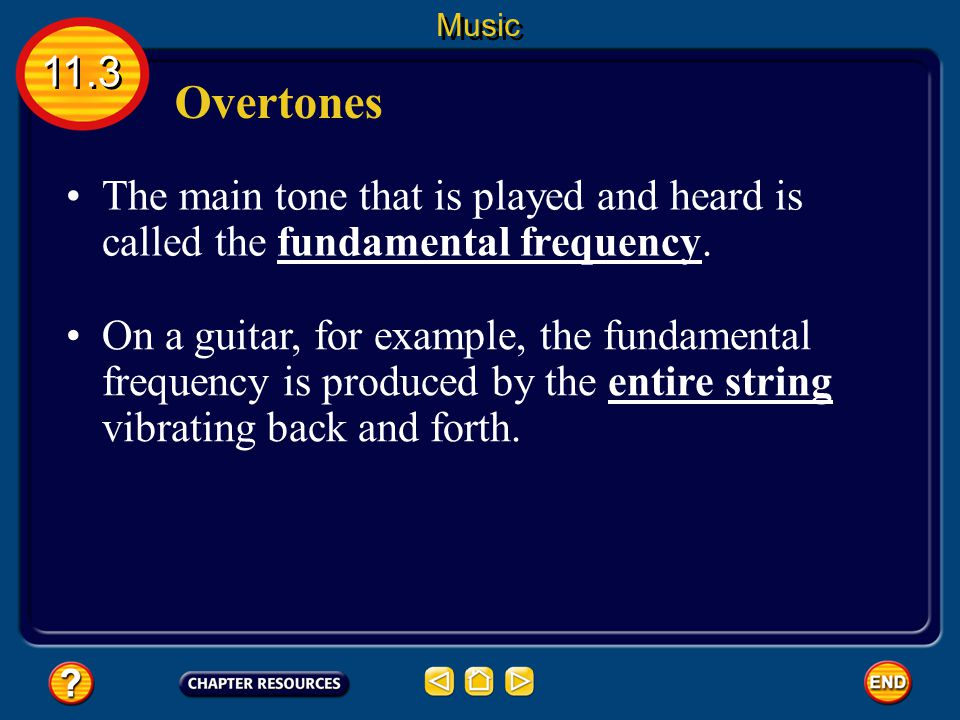 Beats When two instruments play at the same time, the sound waves produced by each instrument interfere.