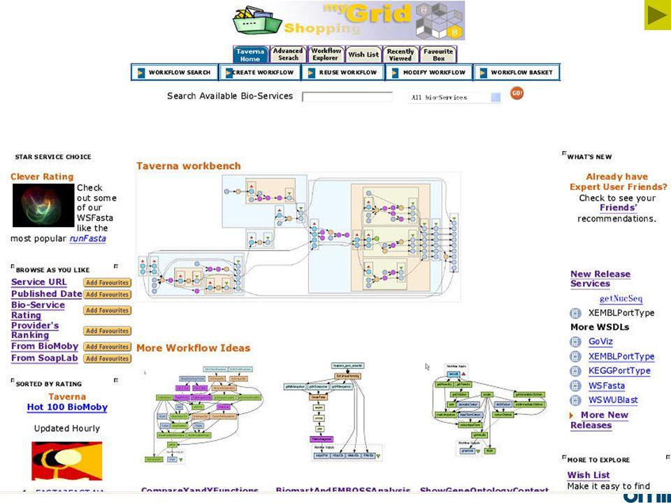 34 webTaverna GUI - main