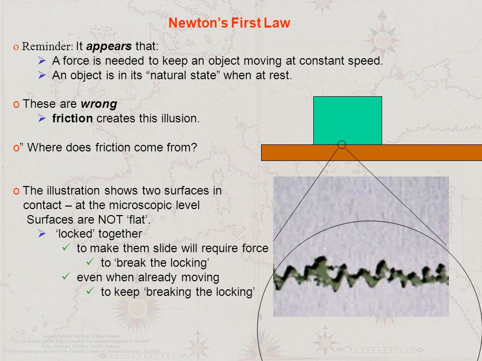 Circular Motion It takes a force to change the direction of a moving object motion force New motion