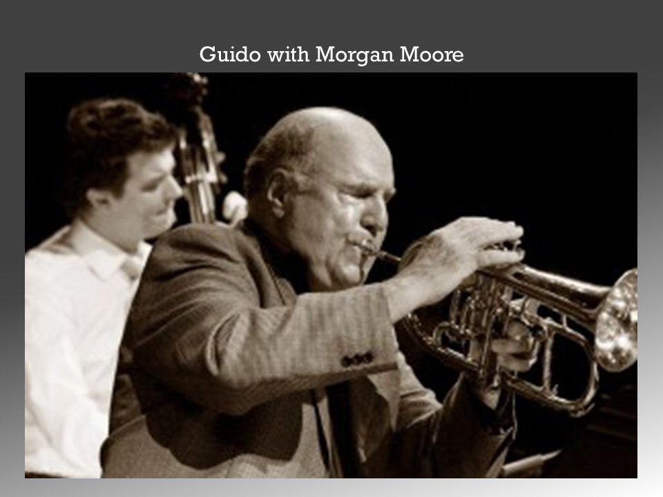 Guido with Morgan Moore