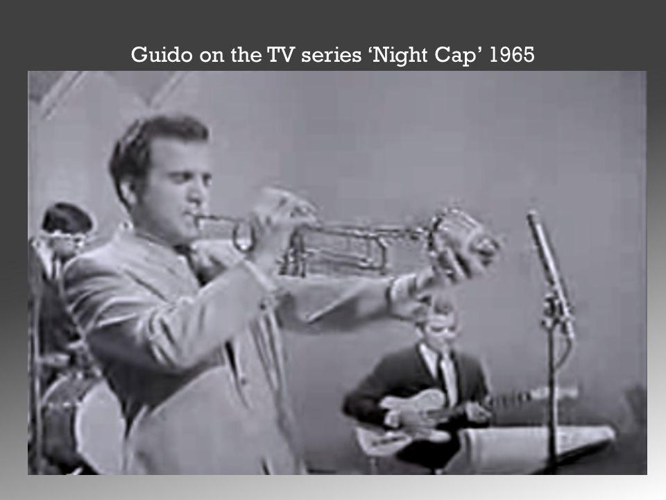 Guido on the TV series 'Night Cap' 1965