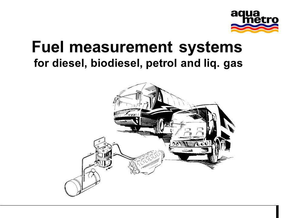 Petrol and Biodiesel measurement