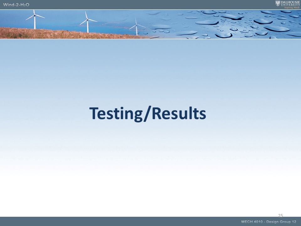 Testing/Results 25